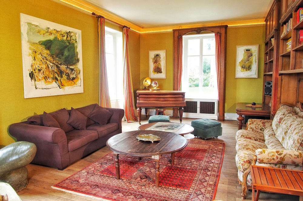 Salon piano maison sologne