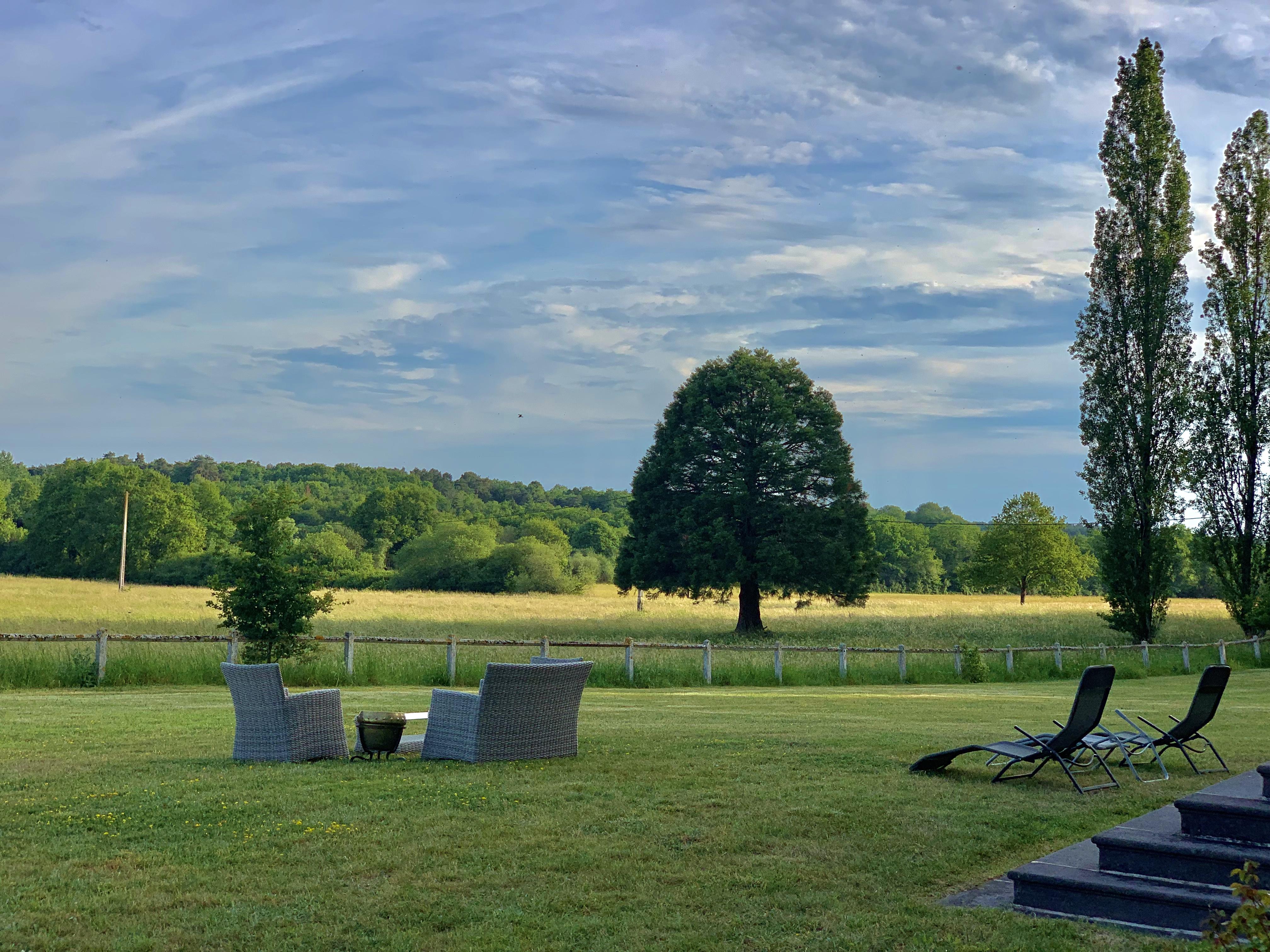 paysage manoir de la Blondellerie